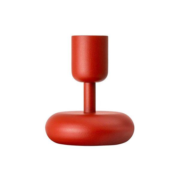 Iittala Nappula Kyoto Red Candle Holder