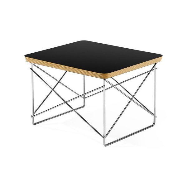 MoMA Black Wire Base Table