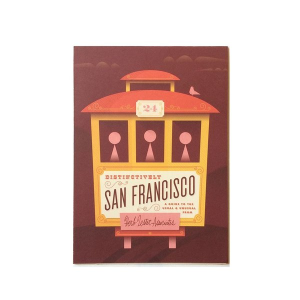 Distinctively San Francisco Map & Travel Guide