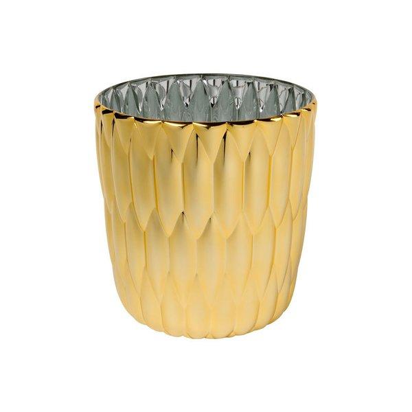 Kartell Jelly Vase – Metallic