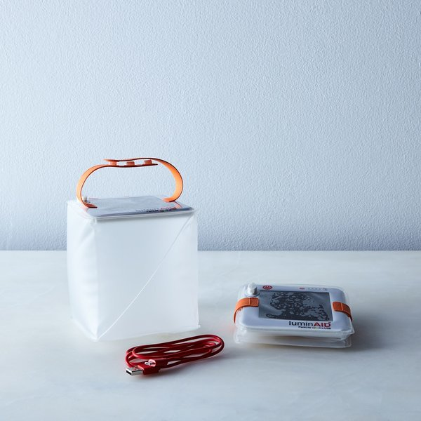LuminAID Waterproof Solar & USB Chargeable Travel Light