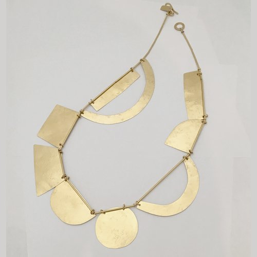 Annie Costello Brown Acrobat Necklace