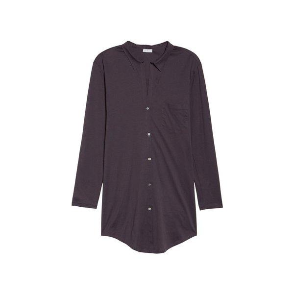 Hanro Deluxe Boyfriend Jersey Sleep Shirt