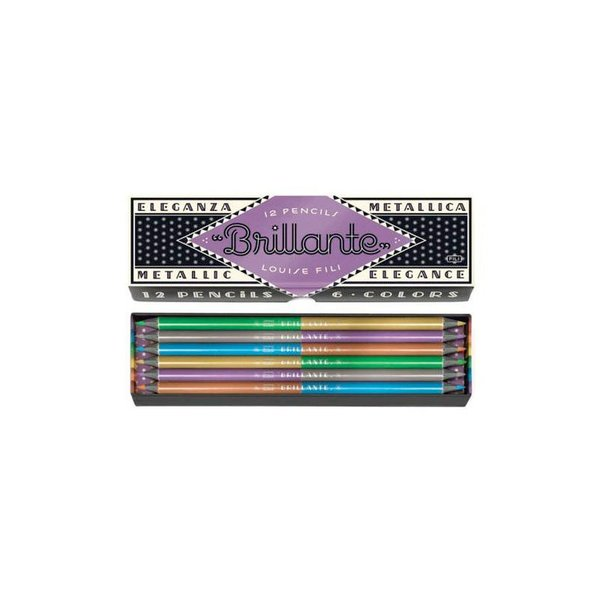 Louise Fili Brillante Pencils