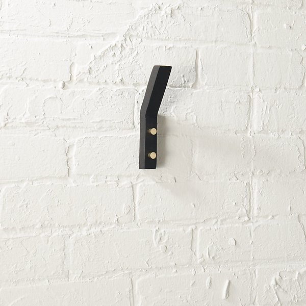 CB2 Leaning Edge Wall Hook