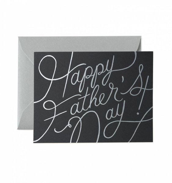 Platinum Father's Day Greeting Card by Rifle Paper Co.