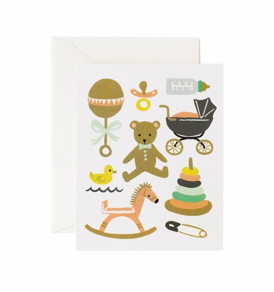 Classic Baby Greeting Card by Rifle Paper Co.