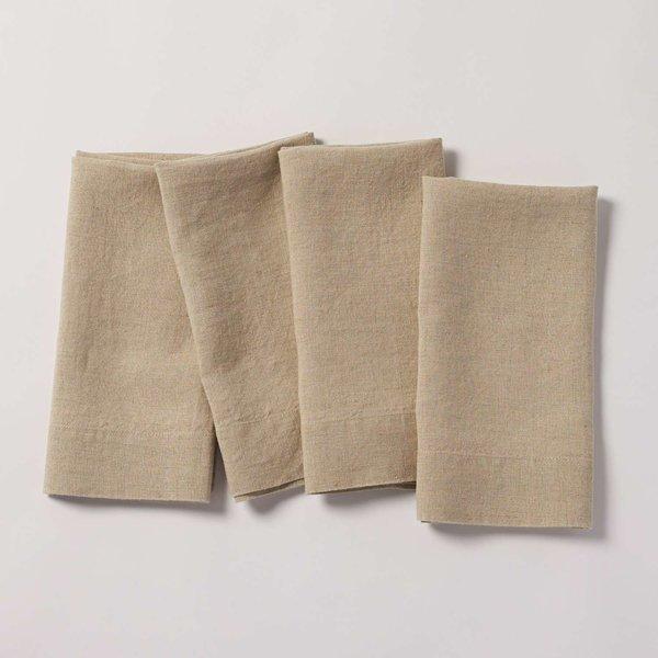 Coyuchi Simple Linen Napkins (Set of 4)
