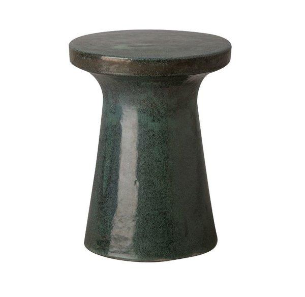 Mecox Large Ceramic Plateau Garden Stool