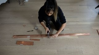 Dwell Made Presents: DIY Mini Copper Desk With Leather Sling - Photo 1 of 14 -