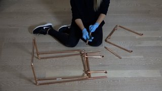 Dwell Made Presents: DIY Mini Copper Desk With Leather Sling - Photo 2 of 14 -