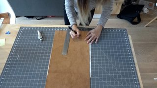 Dwell Made Presents: DIY Mini Copper Desk With Leather Sling - Photo 4 of 14 -