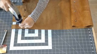 Dwell Made Presents: DIY Mini Copper Desk With Leather Sling - Photo 7 of 14 -