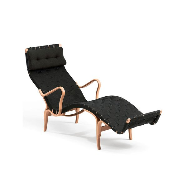 Bruno Mathsson Pernilla 3 Chair, Black