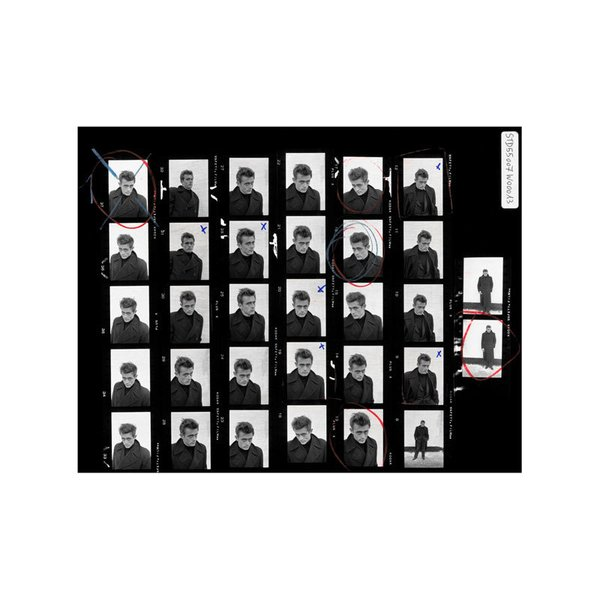 Magnum Photos James Dean Contact Sheet Print