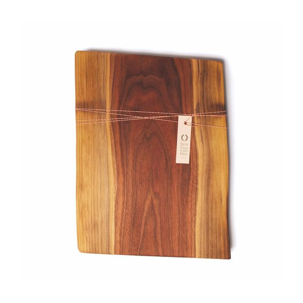 Farmhouse Pottery Live Edge Walnut Cutting Board