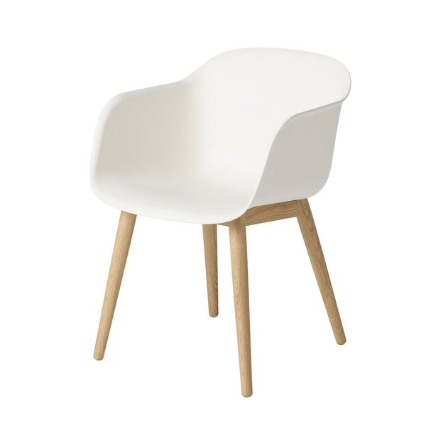 Muuto Fiber Chair – Wood Base