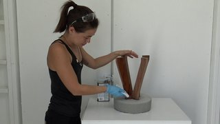 Dwell Made Presents: DIY Concrete Stool - Photo 12 of 16 -
