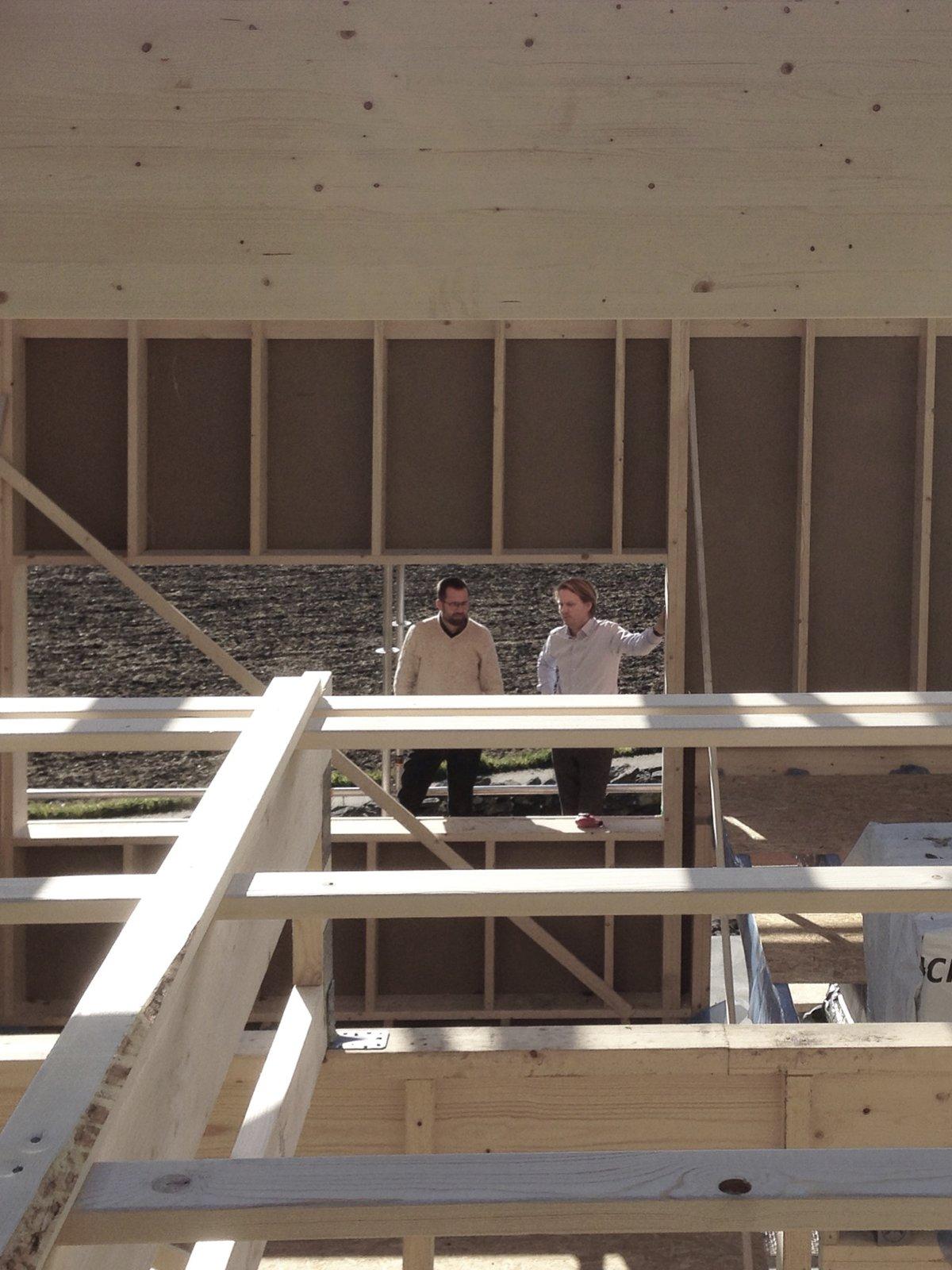 Under construction. Späckhuggaren by Bornstein Lyckefors arkitekter