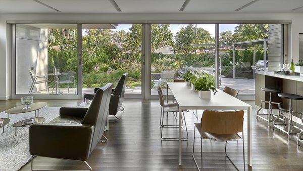 Living + Dining + Kitchen + Garden