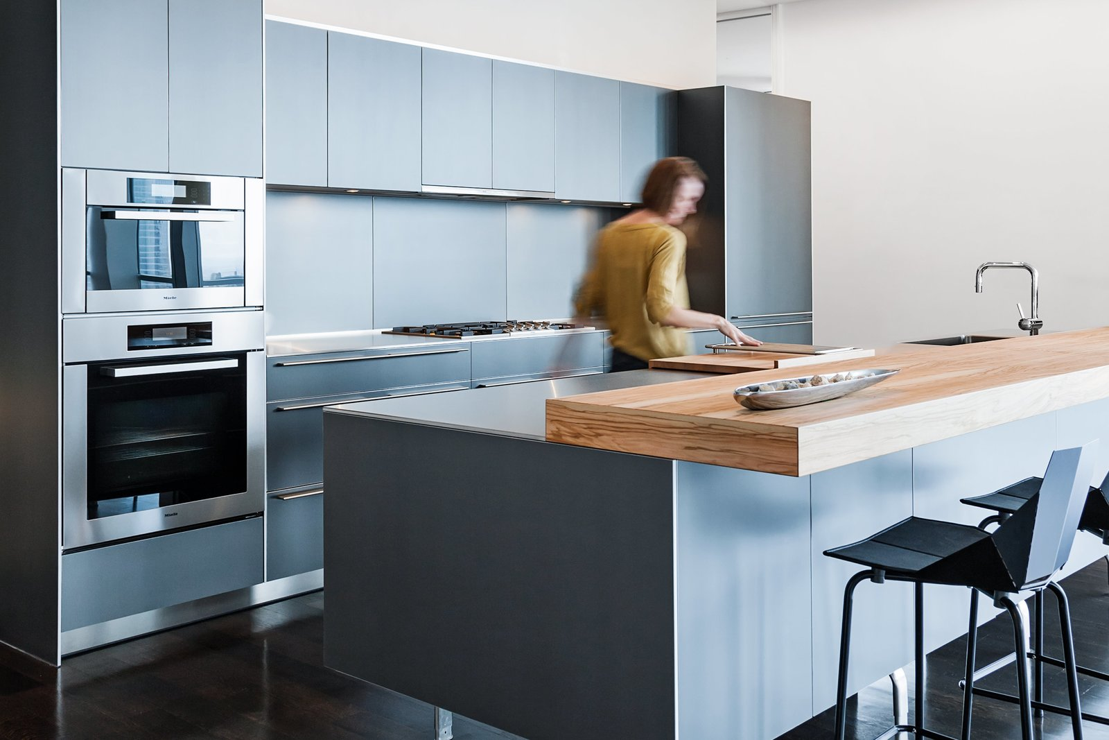 Tagged: Kitchen, Wood Counter, and Wall Oven.  Best Photos from interiors