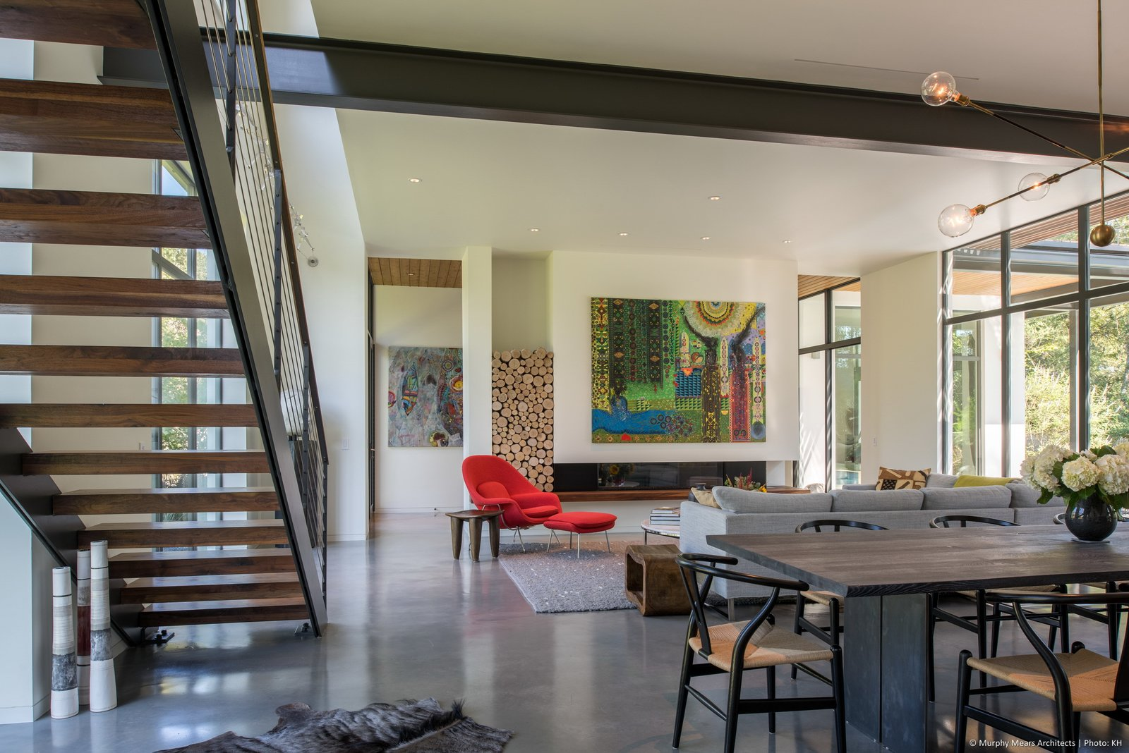 Best Living Ceiling Gas Burning Photos from Open House