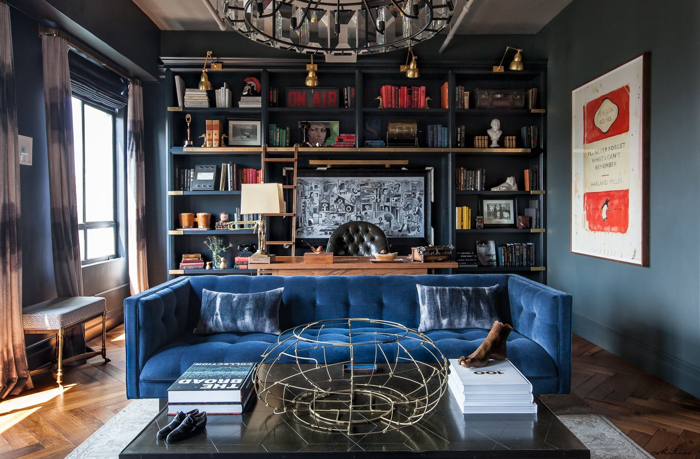 Eastern columbia loft by lori shefa dwell for Farrow and ball los angeles