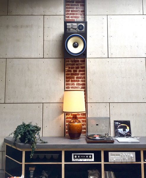 Exposed brick and a 1970s sound system add to Proud Mary's comfy vibe.