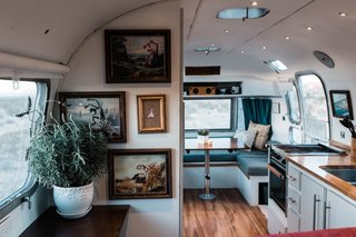 A Photographer Couple's Airstream Renovation Lets Them Take Their Business on the Road - Photo 2 of 14 -