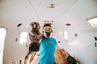 A Photographer Couple's Airstream Renovation Lets Them Take Their Business on the Road - Photo 4 of 14 -