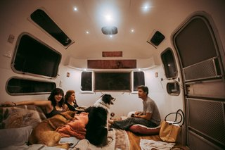 A Photographer Couple's Airstream Renovation Lets Them Take Their Business on the Road - Photo 7 of 14 -