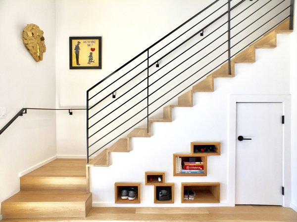 Staircase and Storage