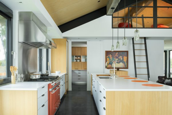 Lacanche Range and Henrybuilt cabinetry in Kitchen and Pantry