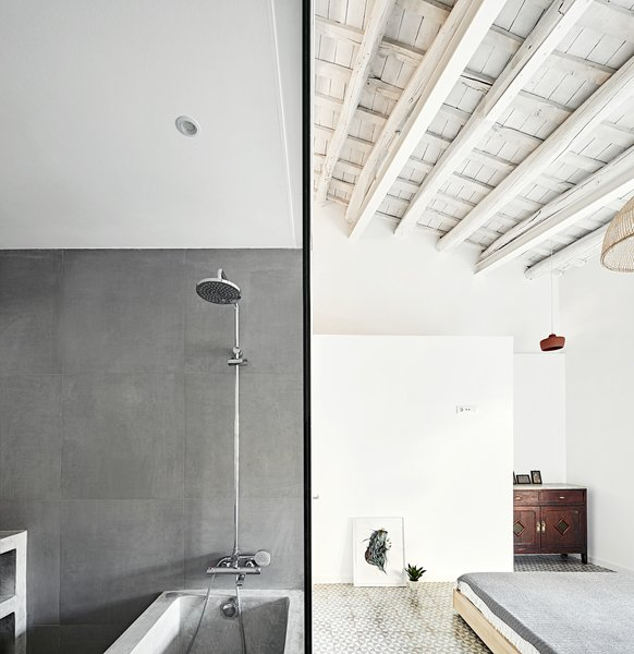19 Best Modern Bathroom Concrete Walls Design Photos And Ideas - Dwell