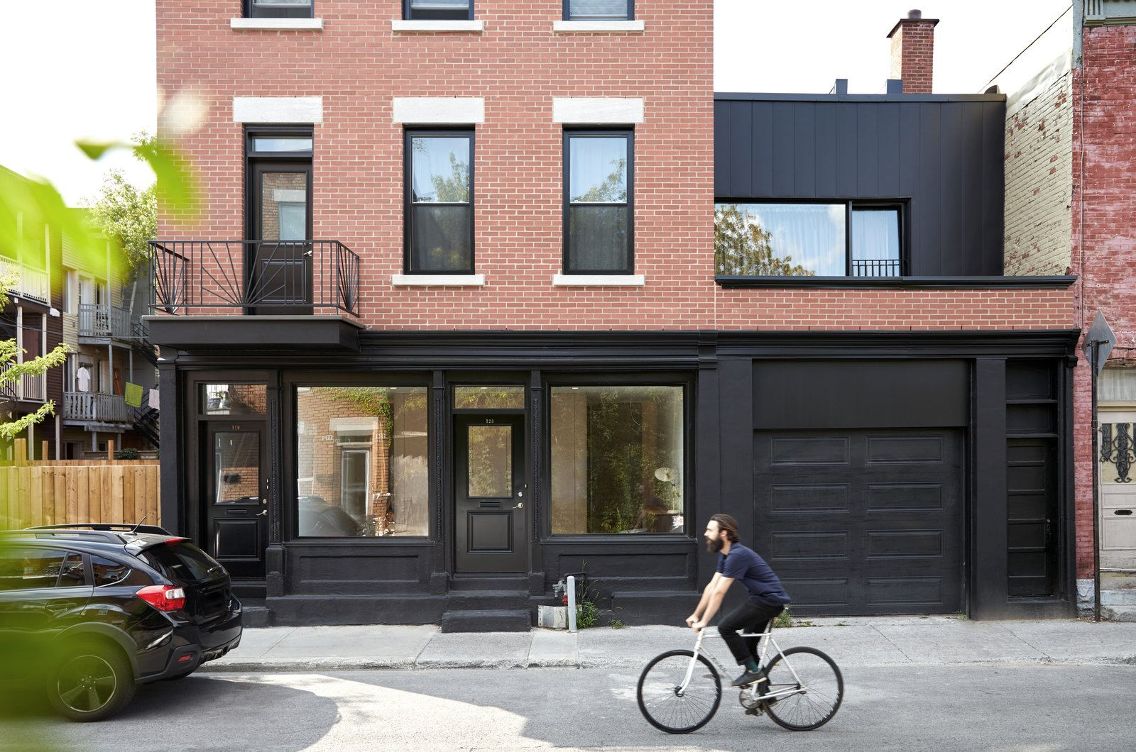 Tagged: Exterior, House, Brick, Flat, Wood, and Apartment.  Best Exterior Brick Apartment Photos from Villeneuve Residence