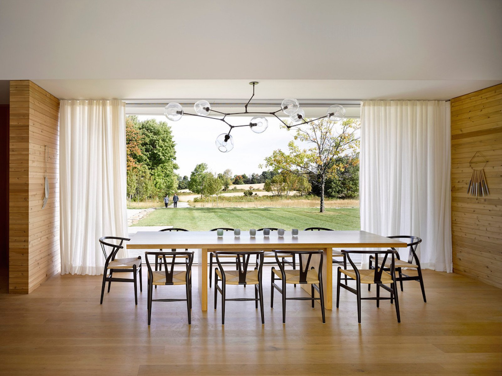 Tagged: Dining Room, Chair, Table, Pendant Lighting, and Light Hardwood Floor.  Best Photos