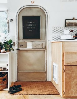 A Couple Transform a Vintage Airstream Into a Scandinavian-Inspired Tiny Home - Photo 6 of 17 -