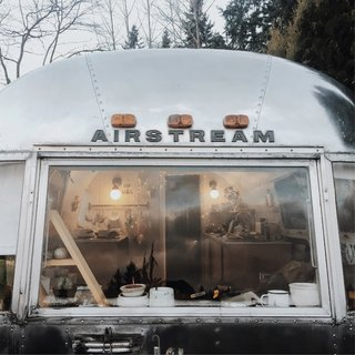 A Couple Transform a Vintage Airstream Into a Scandinavian-Inspired Tiny Home - Photo 16 of 17 -