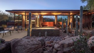 An Old Horse Barn Is Repurposed as a Chic Desert Guesthouse