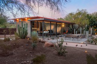 An Old Horse Barn Is Repurposed as a Chic Desert Guesthouse - Photo 2 of 11 -