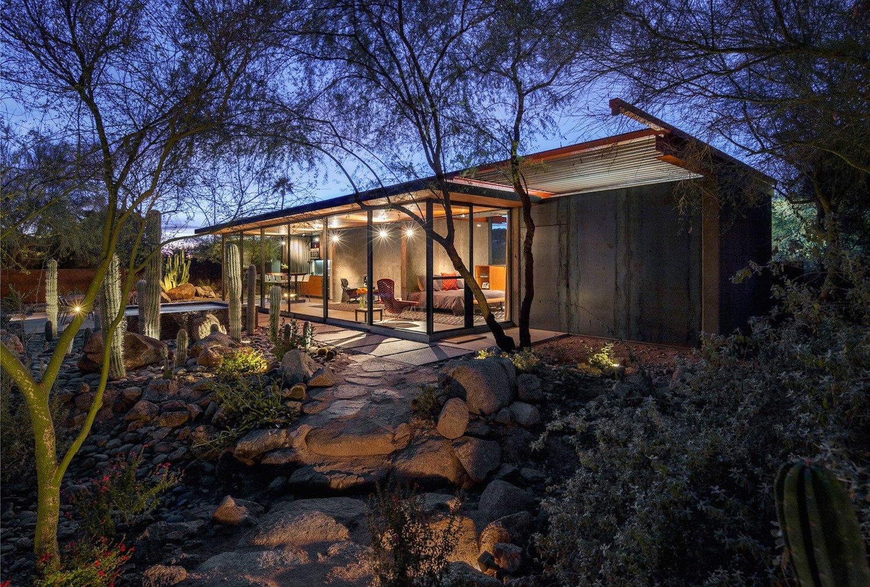 Tagged: Outdoor, Desert, Front Yard, Walkways, Hardscapes, and Trees.  Best Outdoor Desert Walkways Photos from Desktop