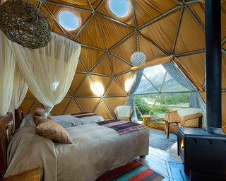 Soak Up the Magic of Patagonia at This Eco-Friendly Geodesic Dome Retreat - Photo 3 of 12 -