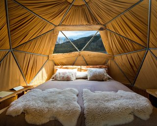 Soak Up the Magic of Patagonia at This Eco-Friendly Geodesic Dome Retreat - Photo 6 of 12 -