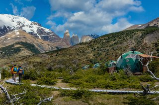 Soak Up the Magic of Patagonia at This Eco-Friendly Geodesic Dome Retreat - Photo 7 of 12 -