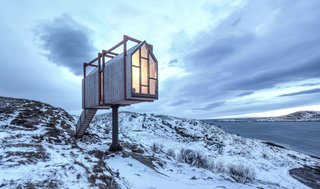 Grab Your Friends and Escape to a Remote Cabin Cluster on a Norwegian Island