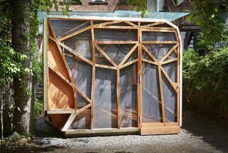 This Prefab Backyard Pavilion Mimics a Dragonfly's Wings - Photo 2 of 7 -