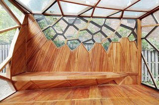 This Prefab Backyard Pavilion Mimics a Dragonfly's Wings - Photo 6 of 7 -