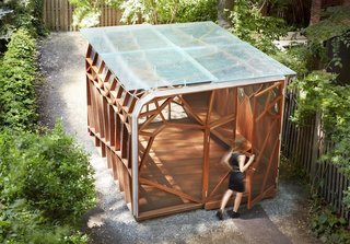 This Prefab Backyard Pavilion Mimics a Dragonfly's Wings - Photo 7 of 7 -
