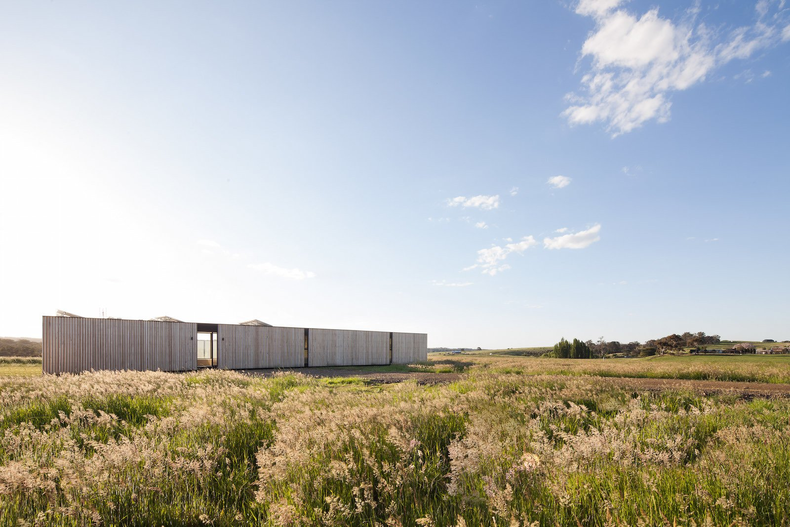 Two Families Embrace Off-Grid Living in This Sustainable Prefab Home