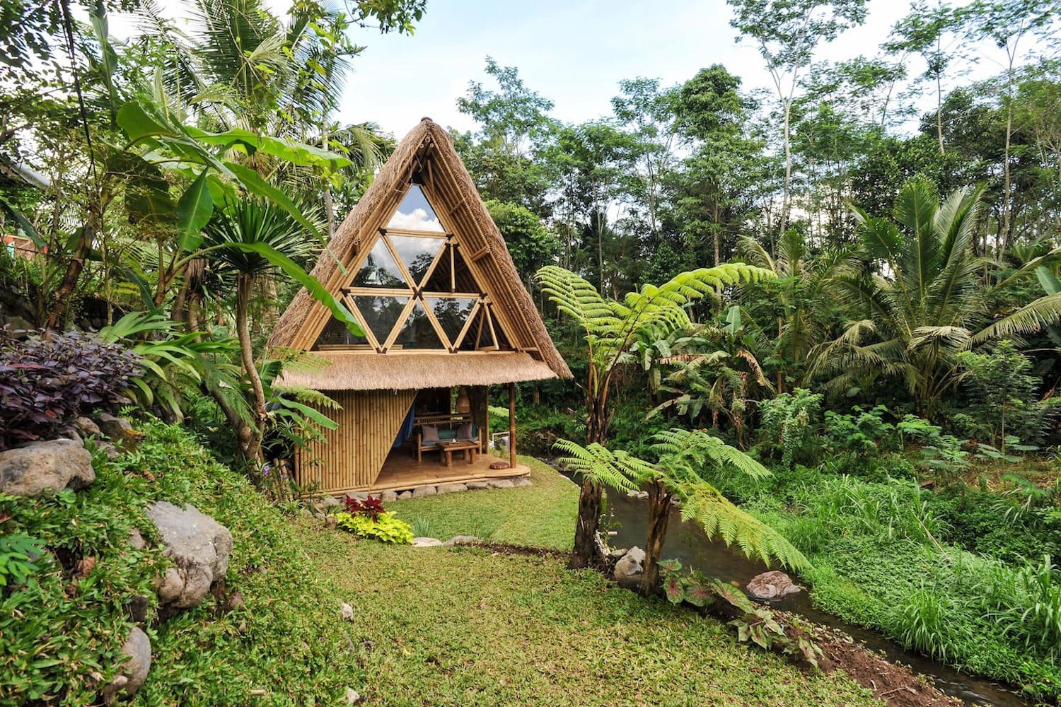 This Serene Bamboo Bungalow Rental Is a Slice of Paradise in Bali